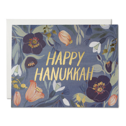 Hanukkah Flowers -Hannukah -Boxed Set of 8