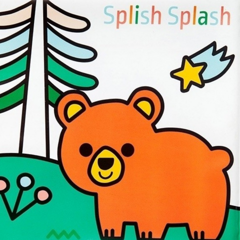 Splish Splash Magic Bath Book: Land