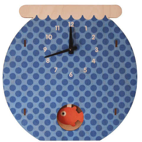 Fish Bowl Clock