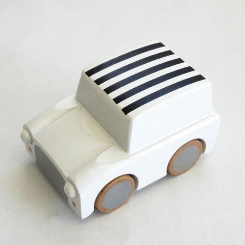Striped Friction Car