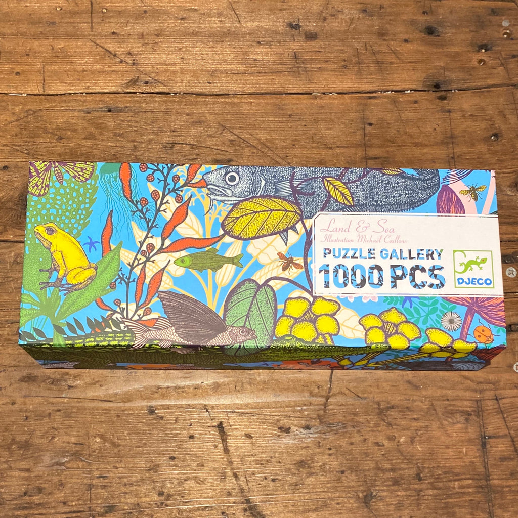 Djeco: Gallery Puzzle- Land and Sea-1000pcs