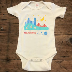 San Francisco Skyline Onesie