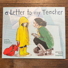 A Letter To My Teacher