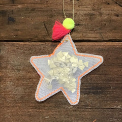 Star Organdie Ornament