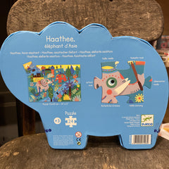 The Elephant Haathee Puzzle-24pcs 3+yrs