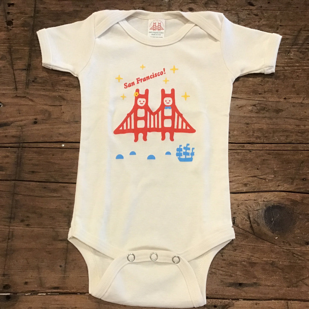 Golden Gate Twins Onesie
