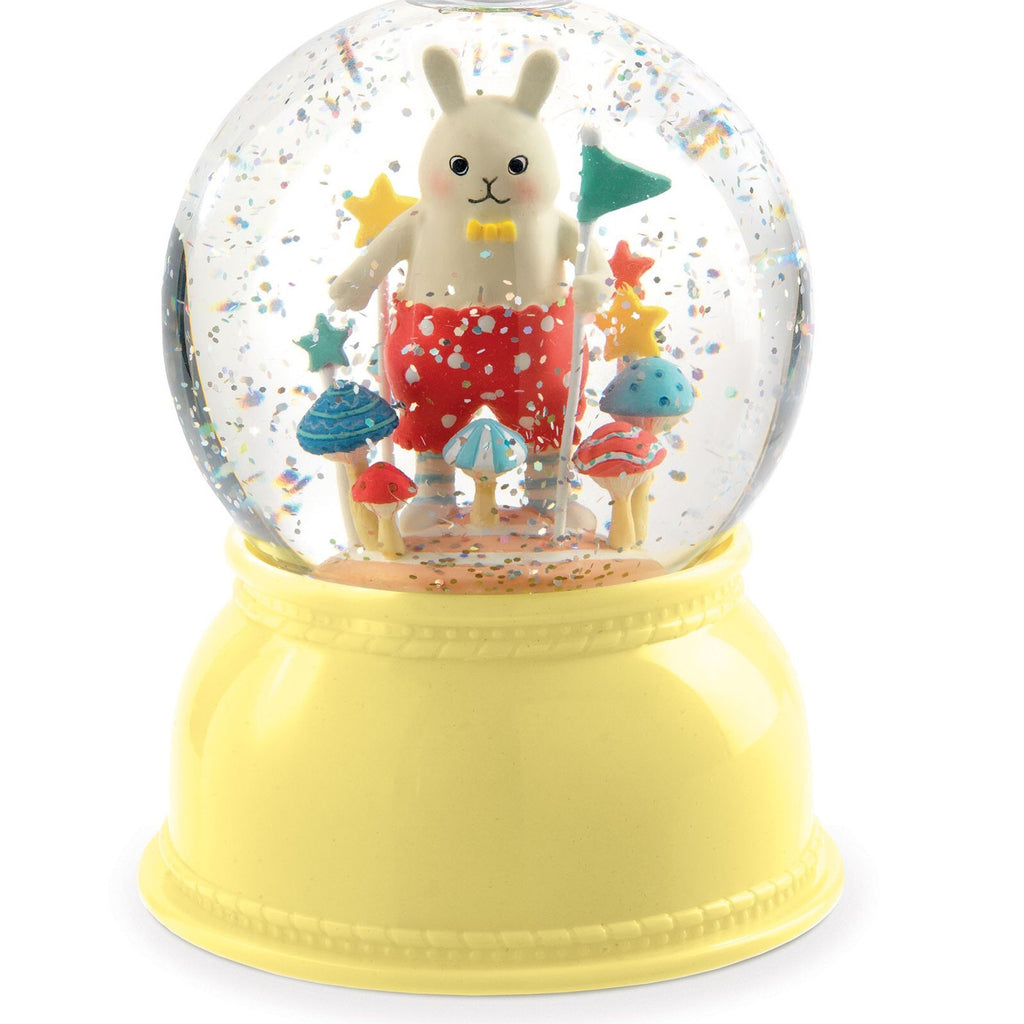 Little Rabbit Snow Globe Night Light