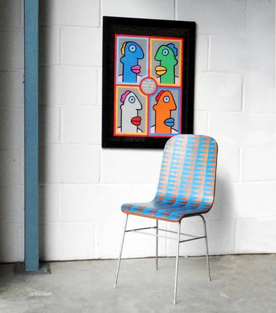 Block Printed Chair