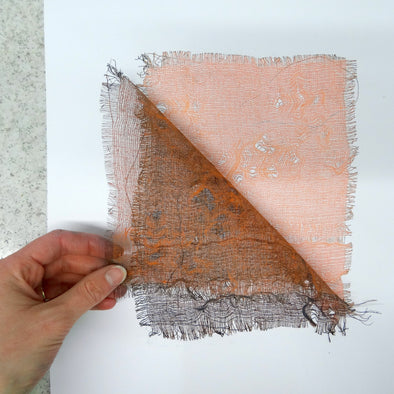 Monoprinting with Scrim