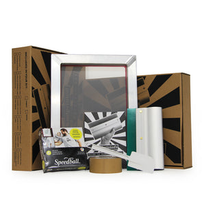 Handprinted Screen Printing Kit for Fabric