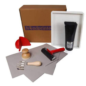 Handprinted Beginners Deluxe Lino Printing Set