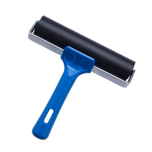Soft Rubber Roller with Blue Handle