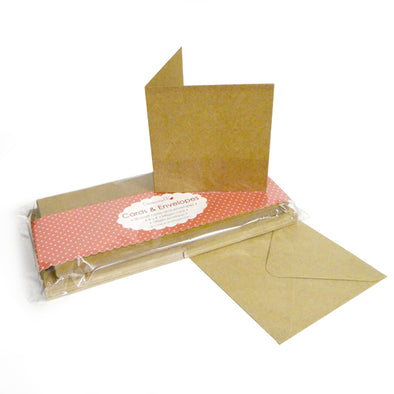 Kraft Cards and Envelopes