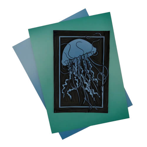Japanese Relief Printmaking Vinyl