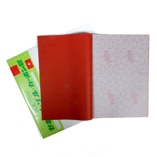 Red Japanese Carbon Paper
