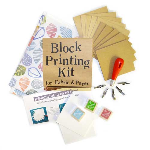 Block Printing Kit for Fabric & Paper