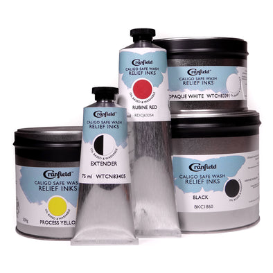 Caligo Safe Wash Relief Printing Inks