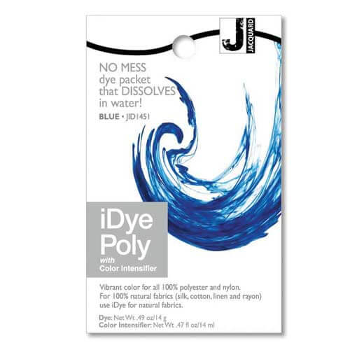 iDye POLY Pink No Mess Packets 14g NEW For Polyester /& Nylon Fabrics