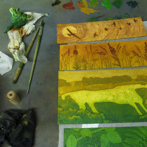 Collagraph with Hester Cox - 2 day course - Mon 7th + Tues 8th June 2021