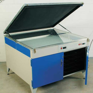 Actinic Exposure Unit with Integral Drying Cabinet