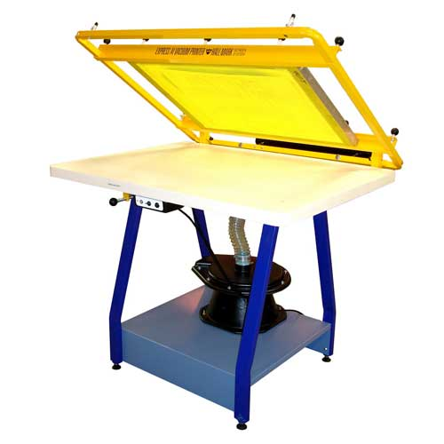 Screen Printing Hand Table