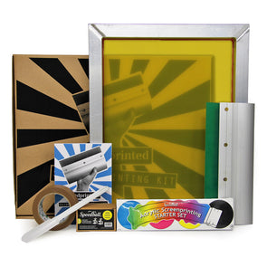 Handprinted Screen Printing Kit for Paper
