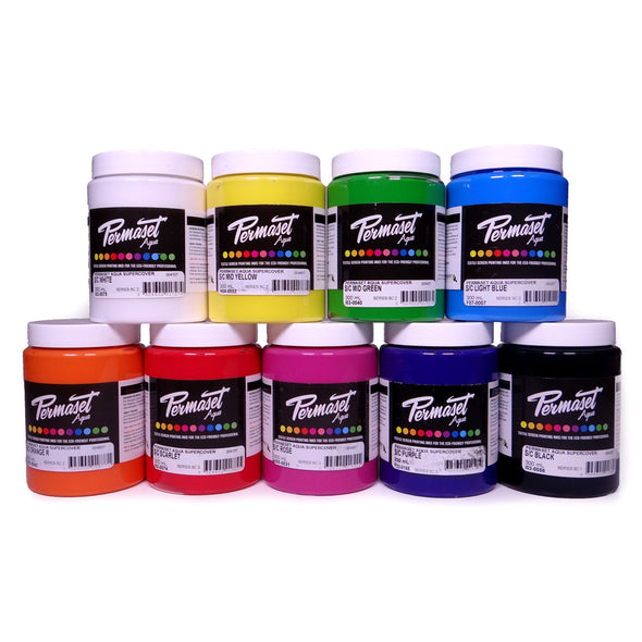Permaset Aqua Supercover Opaque Screen Printing Ink