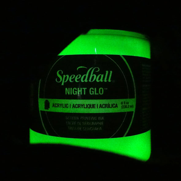 Speedball Night Glo Acrylic Ink - Glow in the Dark