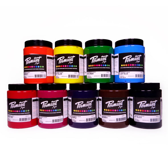 Permaset Aqua Textile Screen Printing Ink