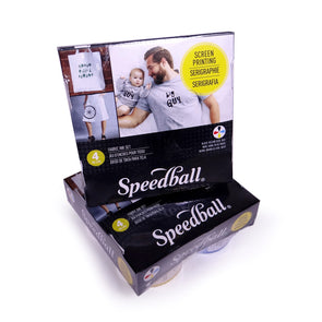 Speedball Fabric Ink Set of Four