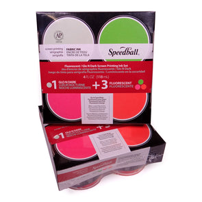 Speedball Fluorescent/Night Glo Ink Set