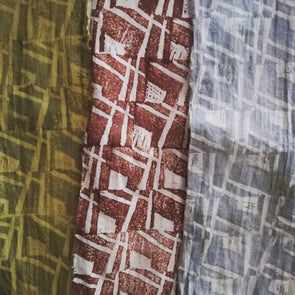 Block Printing with Natural Dyes with Sarah Burns - 2 day course - Weds 20th + 27th Nov 2019