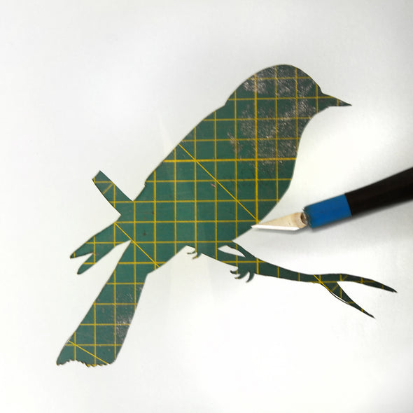 Fab Friday - Screen Printing with Paper Stencils - 17th Jan 2020