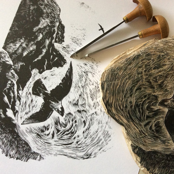 Wood Engraving with David Peduzzi - Weds 30th Sept 2020