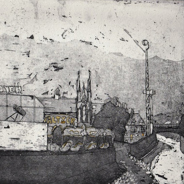 Aquatint Etching with Jamie Barnes - 2 day course - Mon 6th + Tues 7th April 2020