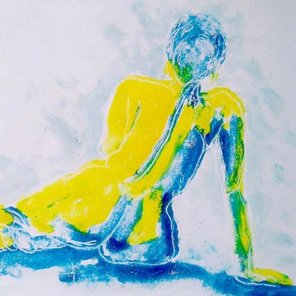 Life Drawing - Creating Mono Screen Prints with Tricia Johnson - Tues 1st June 2021