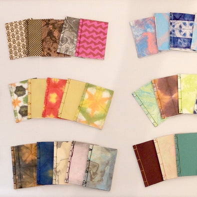 Japanese Paper Dyeing and Bookbinding with Lucy May Schofield - Sat 6th & Sun 7th June 2020