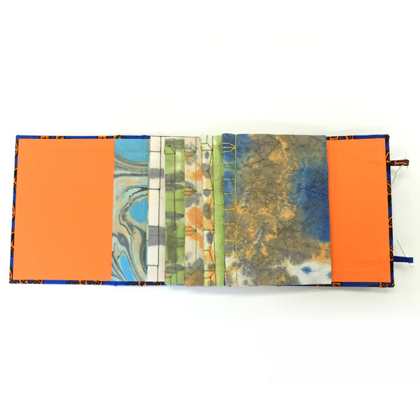 Japanese Paper Dyeing and Bookbinding with Lucy May Schofield -Mon 8th & Tues 9th June 2020
