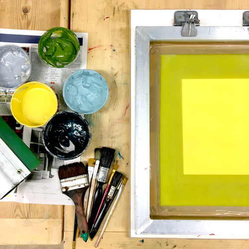 Six Weeks of Screen Printing! - Autumn Term 2020