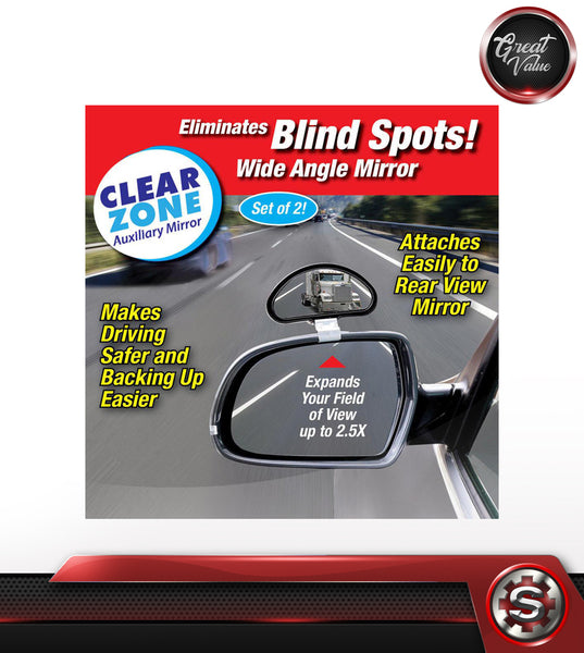 CLEAR ZONE BLIND SPOT MIRROR - SET OF 2