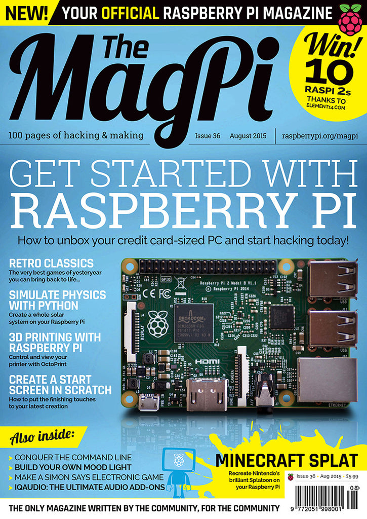 The MagPi - Issue 36