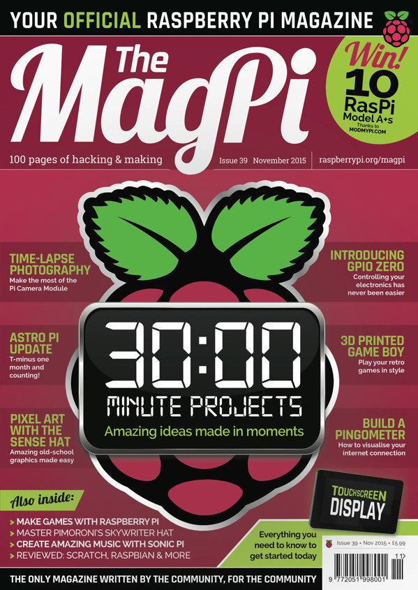 The MagPi - Issue 39