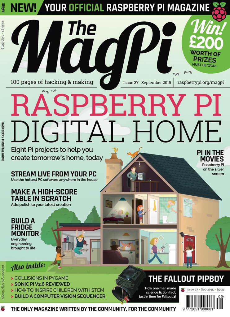 The MagPi - Issue 37