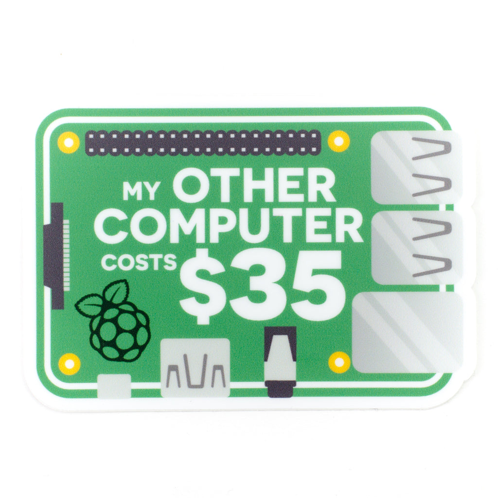 """My other computer..."" sticker"