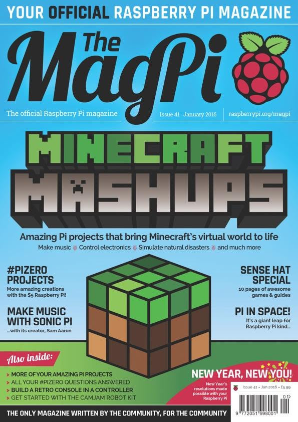 The MagPi - Issue 41