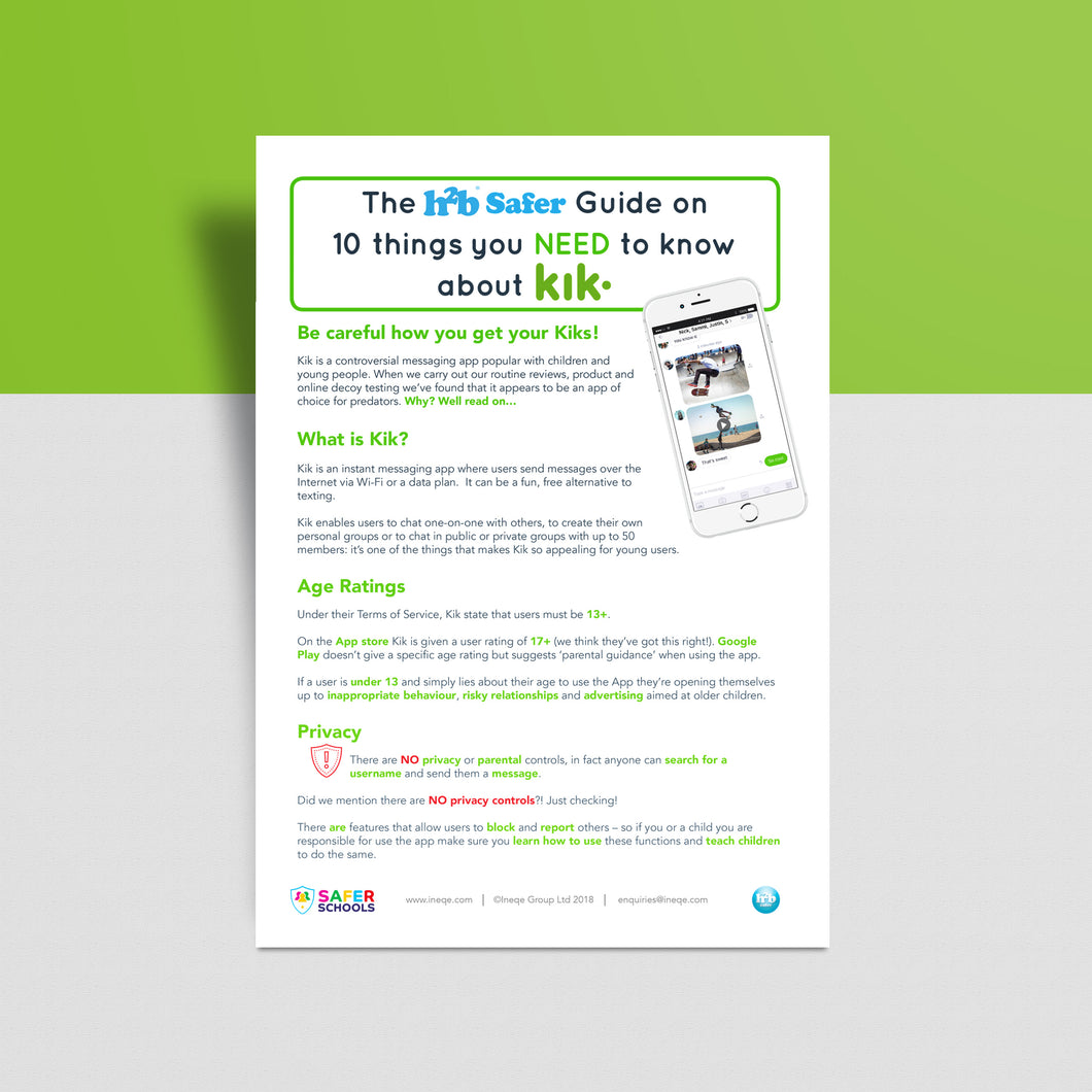 Your Guide to Kik (Pack of 50)