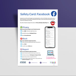 Social Media Safety Cards (Pack of 50)