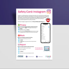 Load image into Gallery viewer, Social Media Safety Cards (Pack of 50)