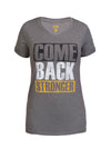 "CBS Ladies T-Shirt ""Performance"", Dunkelgrau"