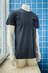 DIRTS REBORN Black Pocket T-Shirt, Dunkelgrau